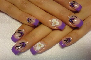 Nail , 6 Purple Prom Nail Designs : prom nails polish art