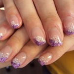 purple gel nail polish , 6 Gel Nail Design Ideas In Nail Category