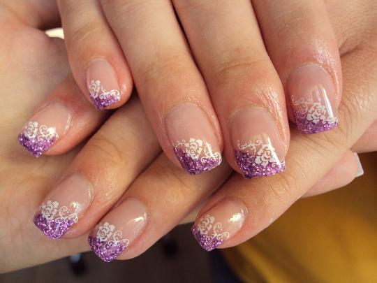 Purple gel nail polish 6 gel nail design ideas woman fashion large 540 x 405 prinsesfo Gallery