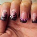 purple nail designs for prom , 6 Purple Prom Nail Designs In Nail Category