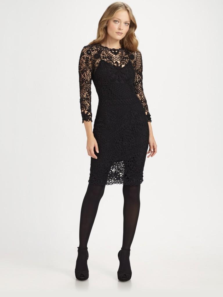 9 Ralph Lauren Little Black Dress in Fashion