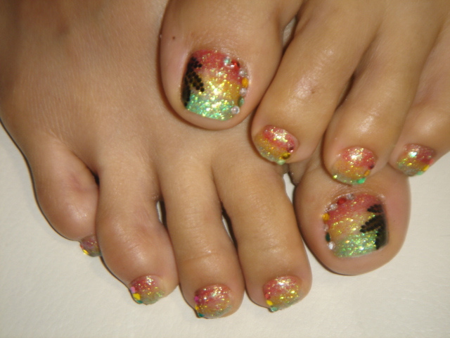Large : 640 x 480 ... - Rasta Nail Designs : 6 Rasta Nail Designs Woman Fashion