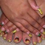 rasta nails , 6 Rasta Nail Designs In Hair Style Category