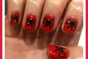 600x600px 7 Red Prom Nail Designs Picture in Nail