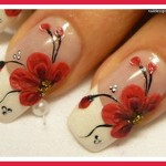 red nail designs for prom pictures , 7 Red Prom Nail Designs In Nail Category