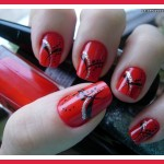 red nail designs for prom queen , 7 Red Prom Nail Designs In Nail Category