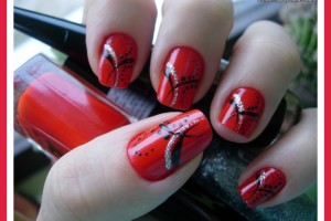 Nail , 7 Red Prom Nail Designs : red nail designs for prom queen