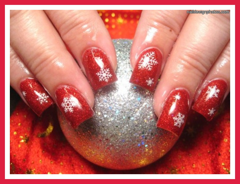 7 Red Prom Nail Designs in Nail