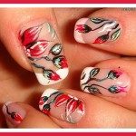 red prom nail designs photos , 7 Red Prom Nail Designs In Nail Category