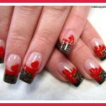 red prom nail polish designs , 7 Red Prom Nail Designs In Nail Category
