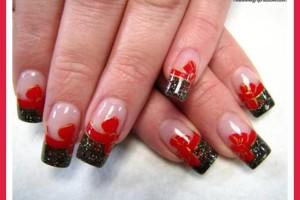Nail , 7 Red Prom Nail Designs : red prom nail polish designs