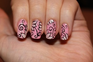 Nail , 6 Nail Art Pen Designs : sakura nail art pen