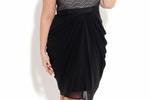 Fashion , 11 Little Black Dresses Plus Size Women : sexy little black dress for curvy women