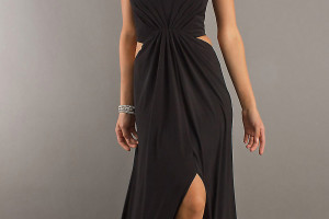Fashion , 10 Sexy Long Black Dress : sexy long black dress