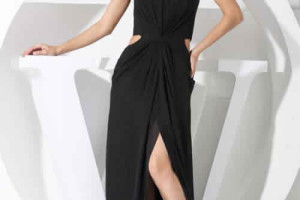 Fashion , 10 Sexy Long Black Dress : sexy long prom dresses