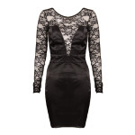 Short Sleeve Bodycon Dress , 9 Black Lace Dress With Long Sleeves In Fashion Category