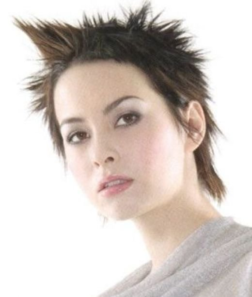 5 Spiky Short Hairstyles For Women in Hair Style