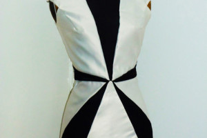 Fashion , 10 Little Black And White Dress : simple little black and white dress 1