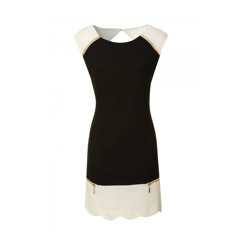 Fashion , 10 Little Black And White Dress : Simple Little Black And White Dress