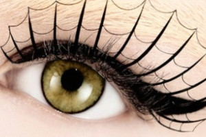 Make Up , 5 Spider Web Eye Makeup : spider web eyelashes