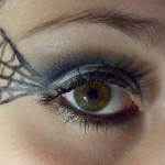 spider web halloween makeup , 5 Spider Web Eye Makeup In Make Up Category