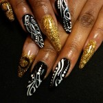stiletto nail art designs , 6 Stiletto Nail Designs In Nail Category