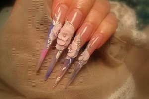 640x480px 7 Stiletto Nails Designs Picture in Nail