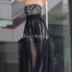 summer long prom dress , 10 Sexy Long Black Dress In Fashion Category