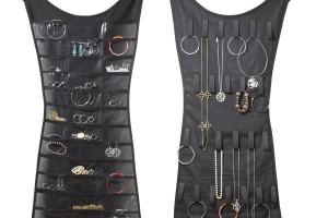 Jewelry , 6 Little Black Dress Jewelry Hanger : umbra little black dress hanging jewelry organizer