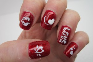 Nail , 7 Valentines Day Nail Designs : valentines day nail designs
