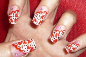 600x450px 7 Valentines Day Nail Designs Picture in Nail