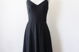 Fashion , 6 Vintage Little Black Dress :  vintage 1970s cocktail dress