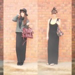 wear a black maxi dress casually , 6 Trick How To Wear A Long Black Maxi Dress In Fashion Category