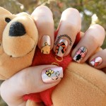winnie the pooh nail art designs , 7 Cartoon Nail Designs In Nail Category