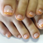 wonderful toe nail design , 7 Crackle Toe Nail Designs In Nail Category