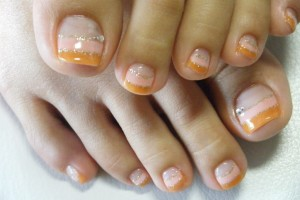 Nail , 7 Crackle Toe Nail Designs : wonderful toe nail design