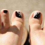 yin yang toenails designs , 7 Crackle Toe Nail Designs In Nail Category