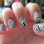 zebra Nail Polish Designs , 6 Zebra Nail Designs In Nail Category