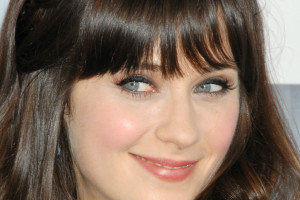 1024x886px 7 Zooey Deschanel Eye Makeup Picture in Make Up