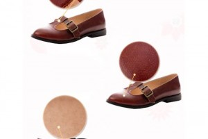 Shoes , 6 Vintage Style Dress Shoes : ... Flat Mary Jane Retro Vintage Style Nautical Dress Shoes SKU-1090557