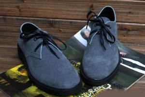 Shoes , 6 Vintage Style Dress Shoes : ... Grey Gray Leather Retro Vintage Style Dress Shoes for Less SKU-1100038