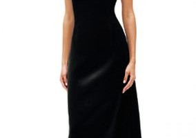 Fashion , 4 Long Black Dresses For A Wedding : Wedding Brides