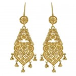 London Loans - 22ct Yellow Gold Drop Earrings , 6 Gold Drop Earrings In Jewelry Category