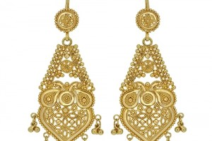 Jewelry , 6 Gold Drop Earrings : London Loans - 22ct Yellow Gold Drop Earrings