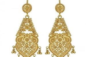 Jewelry , 6 Gold Drop Earrings : London Loans - 22ct Yellow Gold Drop Earrings