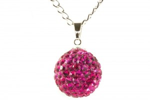 Jewelry , 6 Crystal Necklace : ... Crystal Necklaces › Lemonade › Lemonade Crystal Ball Necklace Hot