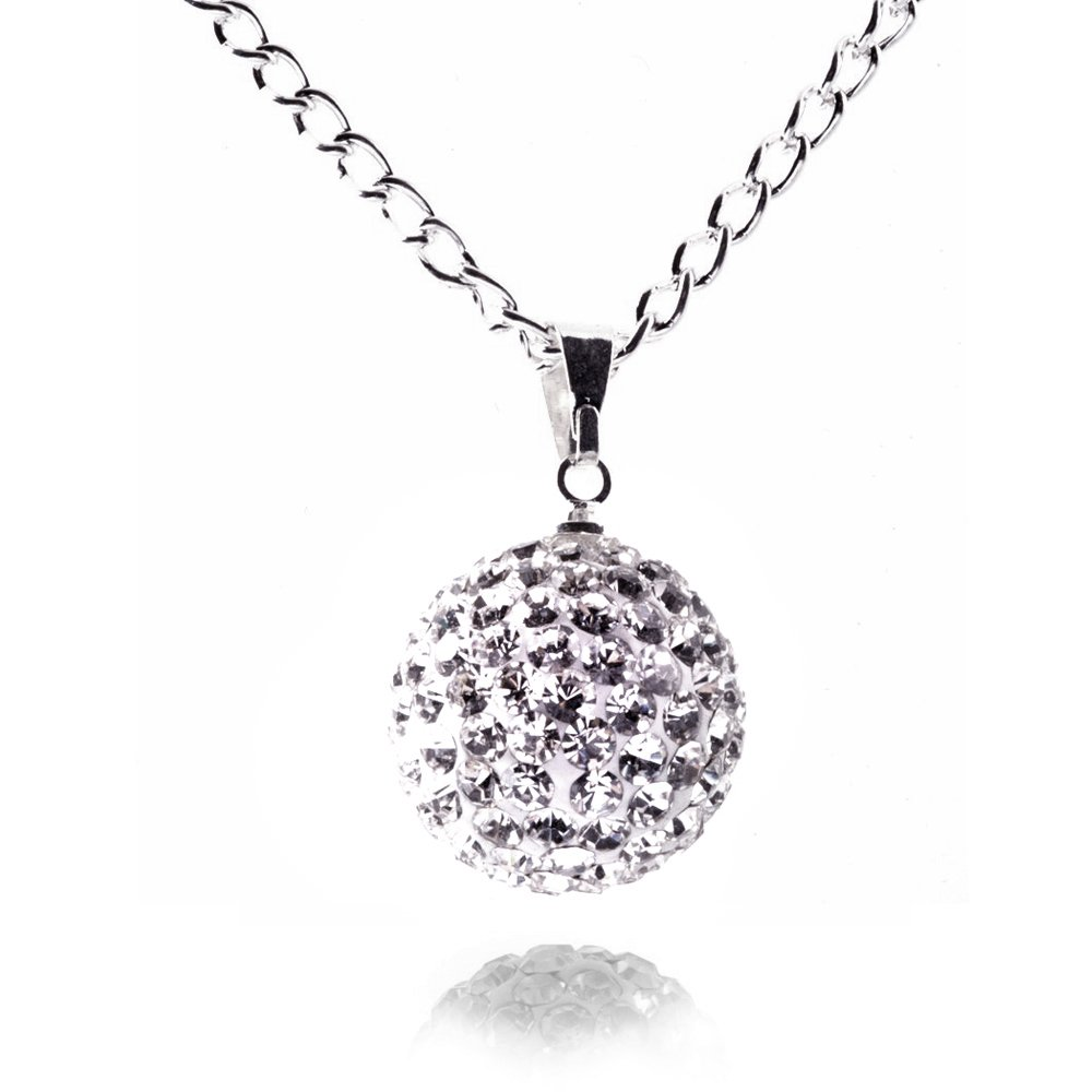 crystal necklaces necklace stunning jewelry pendant ball