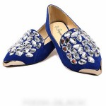 ... Shoes > Flattie > Retro style Fashion Crystal decoration Flattie shoes , 6 Vintage Style Dress Shoes In Shoes Category