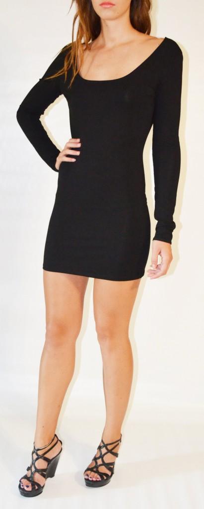 6 Little Black Dress Backless Inspiration in Fashion