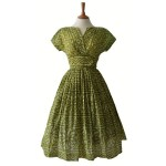 1950s Green Vintage Prom Dress , 7 Green Vintage Prom Dress Designs In Fashion Category